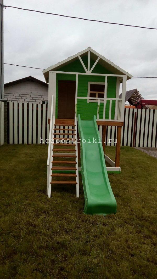 различные детские домики - площадки