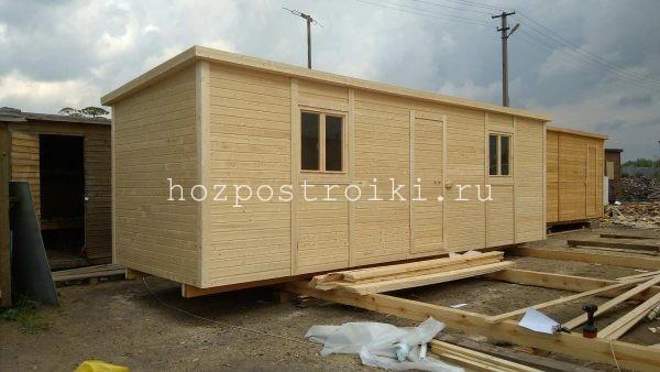 изготовление 7 метровых деревянных вагончиков под заказ