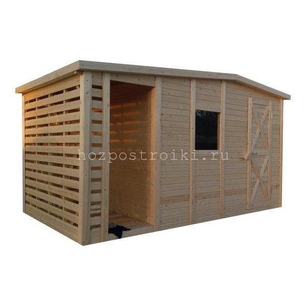 Продажа хозблоков для хранения дров