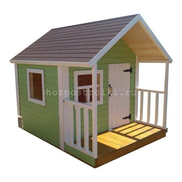 Домик для детских игр на даче