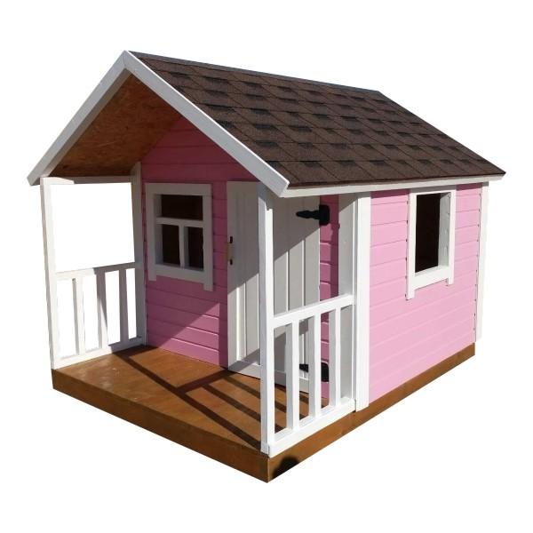 Игровой деревянный домик для девочек