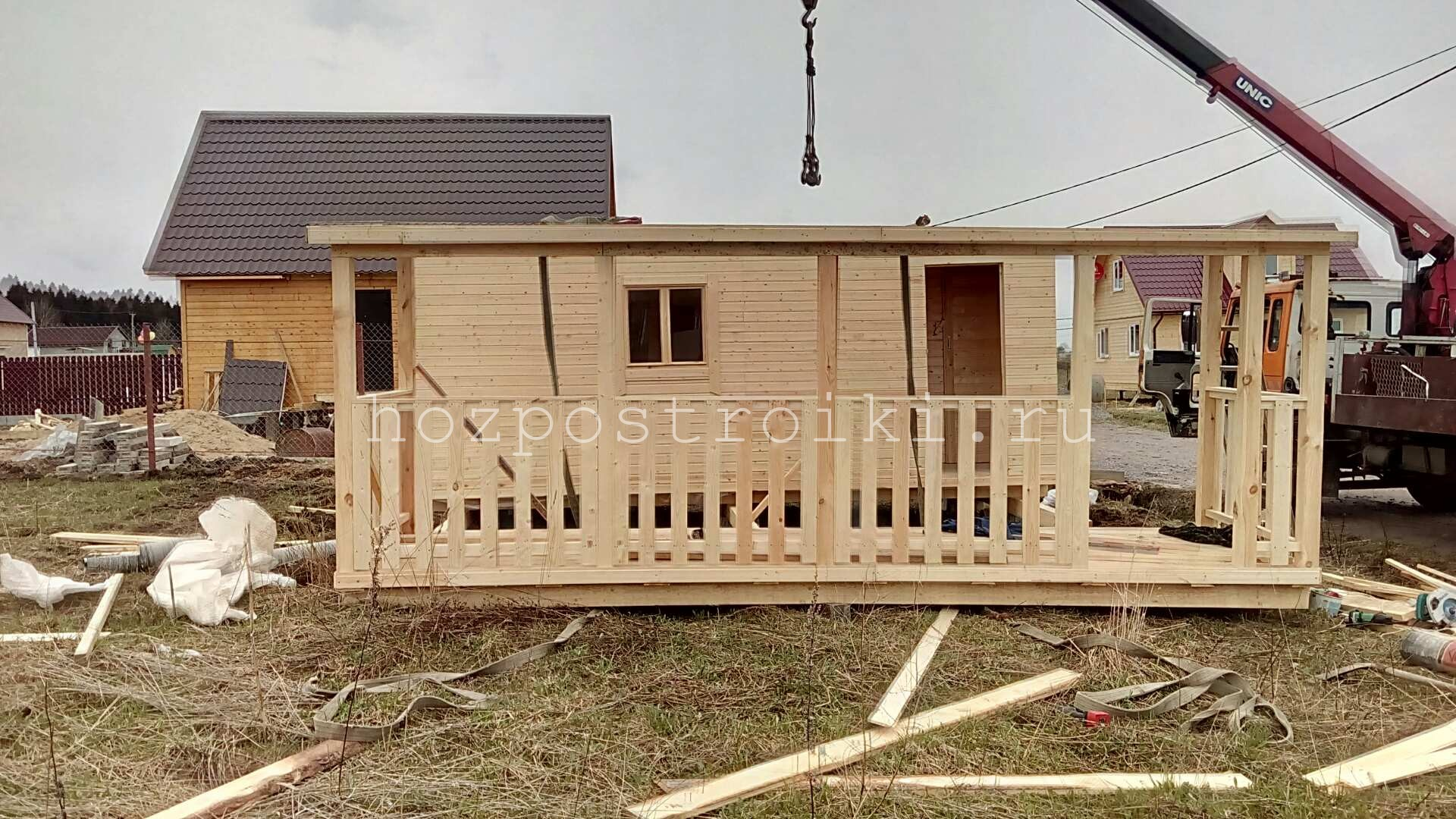Строим мини дом