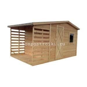 изготовление деревянных сараев