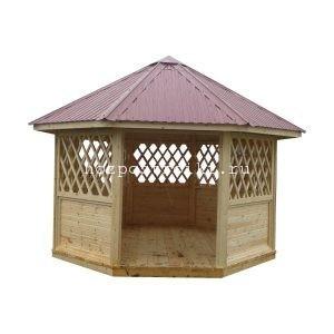 производство и продажа дачных деревянных беседок