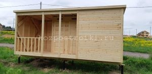 Купить деревянный вагончик